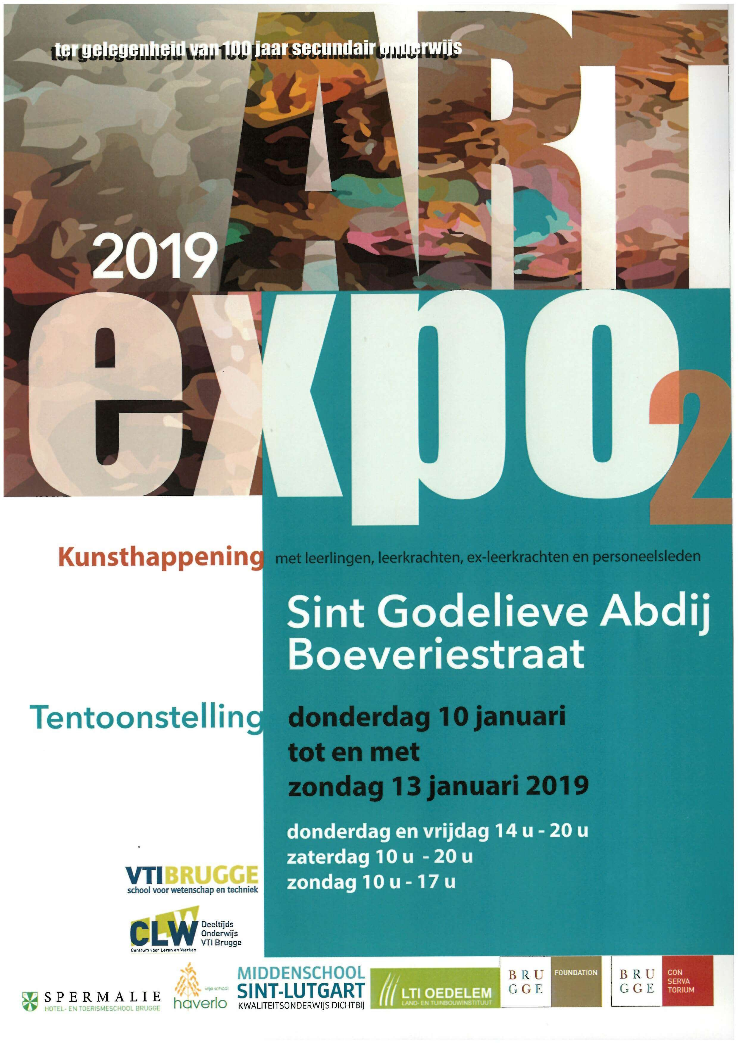 Expo in Sint Godelieve Abdij, Boeverijstraat